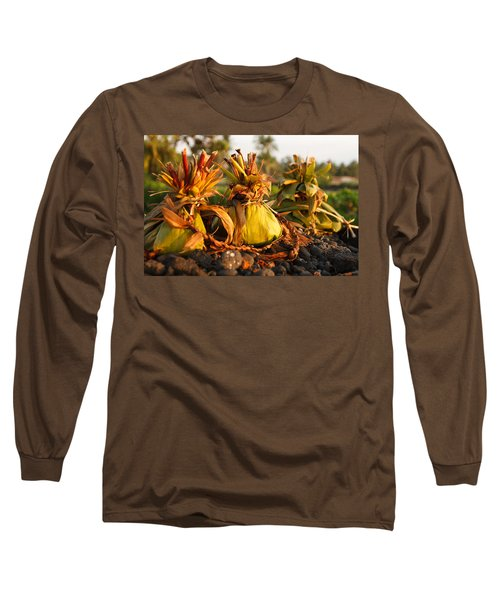 Hookupu At Sunset Long Sleeve T-Shirt