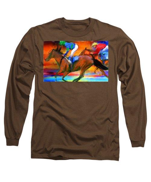 Horse Racing II Long Sleeve T-Shirt