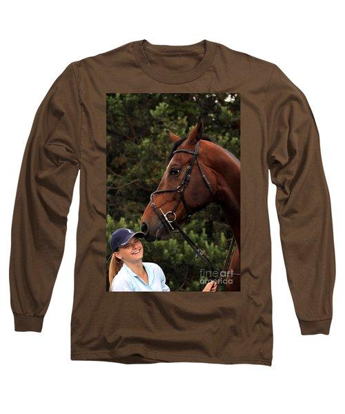 Horsie Nudge Long Sleeve T-Shirt