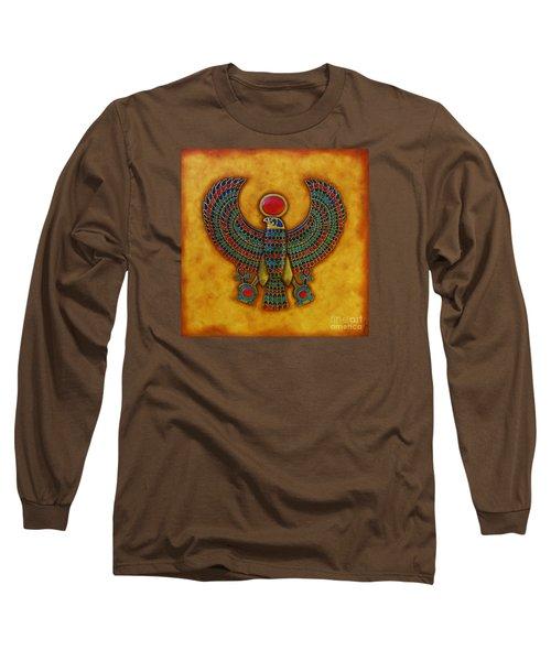 Horus Long Sleeve T-Shirt by Joseph Sonday