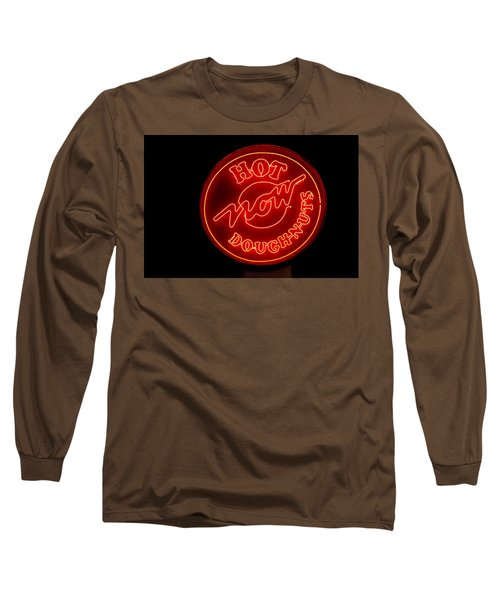 Hot Now Krispy Kreme Long Sleeve T-Shirt