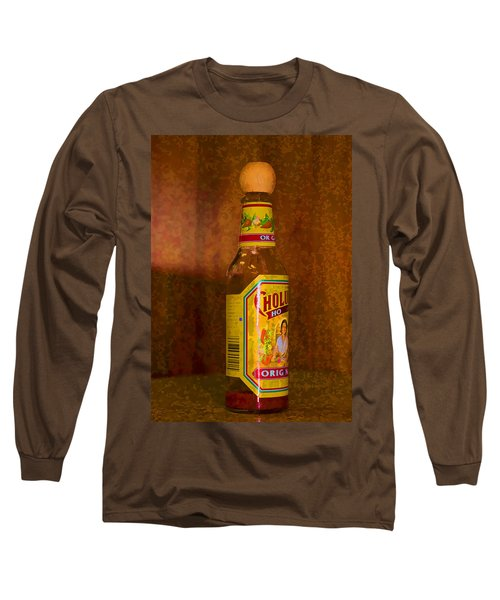 Hot Sauce Two Long Sleeve T-Shirt by Cathy Anderson