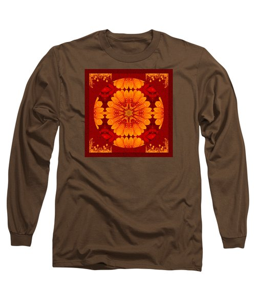 Hot Tropical Zen Long Sleeve T-Shirt