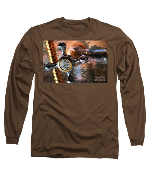 Hot Water Long Sleeve T-Shirt by Randi Grace Nilsberg
