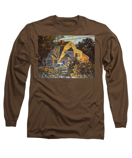 House In Christiansburg Long Sleeve T-Shirt