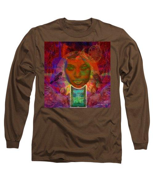 Solar Eyes Long Sleeve T-Shirt by Joseph Mosley
