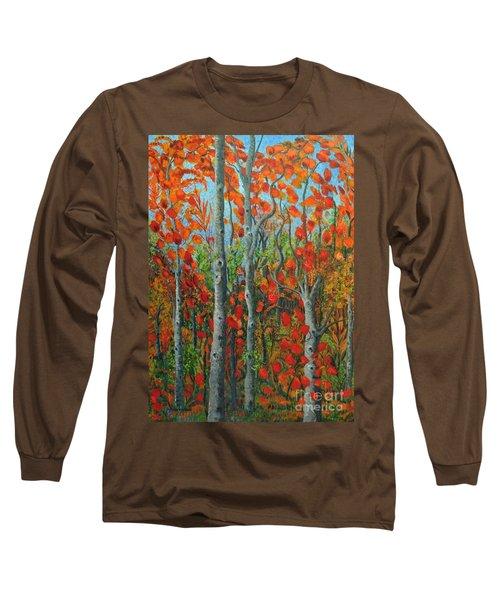I Love Fall Long Sleeve T-Shirt