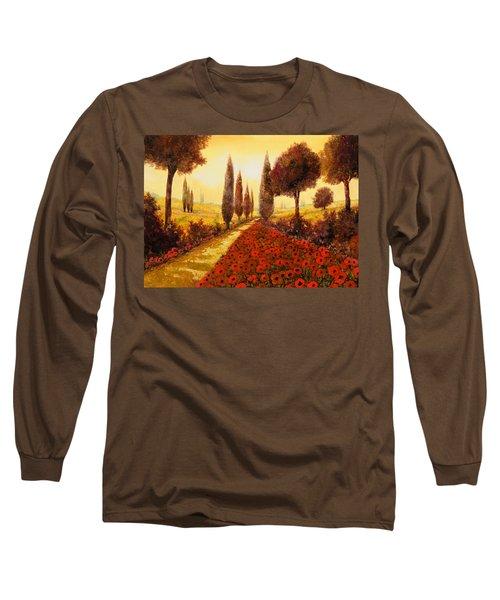 I Papaveri In Estate Long Sleeve T-Shirt