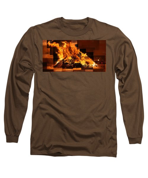 Iceland Bonfire Long Sleeve T-Shirt