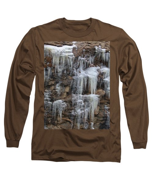 Icicle Cliffs Long Sleeve T-Shirt
