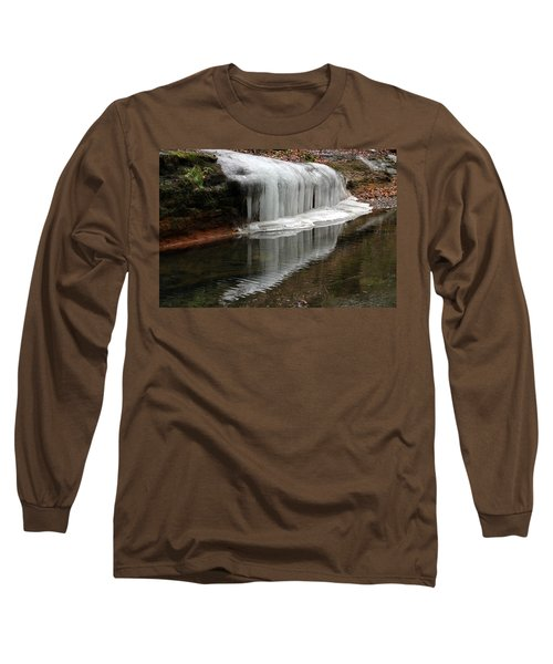 Icicle Reflection  Long Sleeve T-Shirt