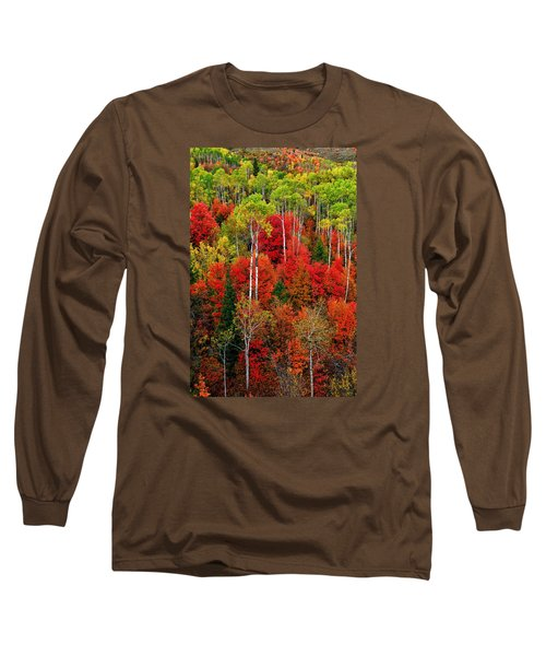 Idaho Autumn Long Sleeve T-Shirt by Greg Norrell