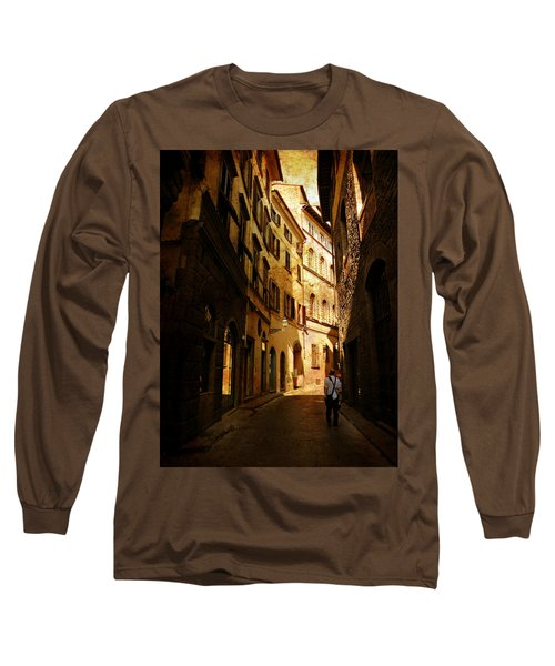 Il Turista Long Sleeve T-Shirt by Micki Findlay