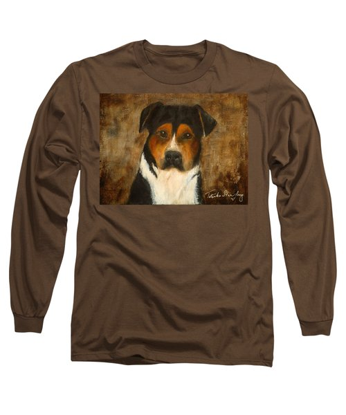Long Sleeve T-Shirt featuring the painting I'll Wait For You by Barbie Batson
