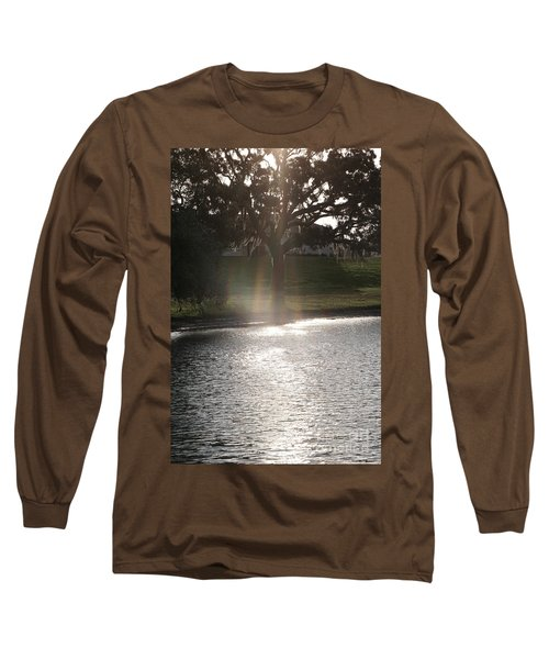 Illuminated Tree Long Sleeve T-Shirt