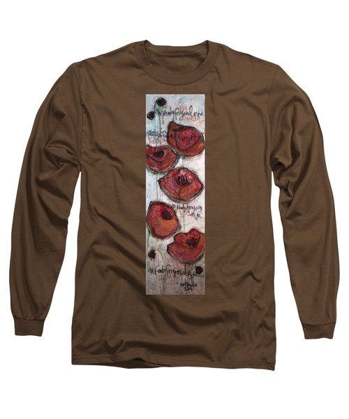 Im Ready For Your Love Poppies Long Sleeve T-Shirt