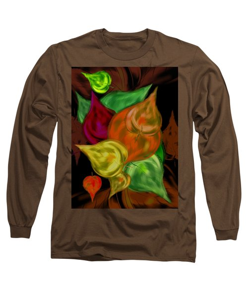 Imagine Leaves Long Sleeve T-Shirt