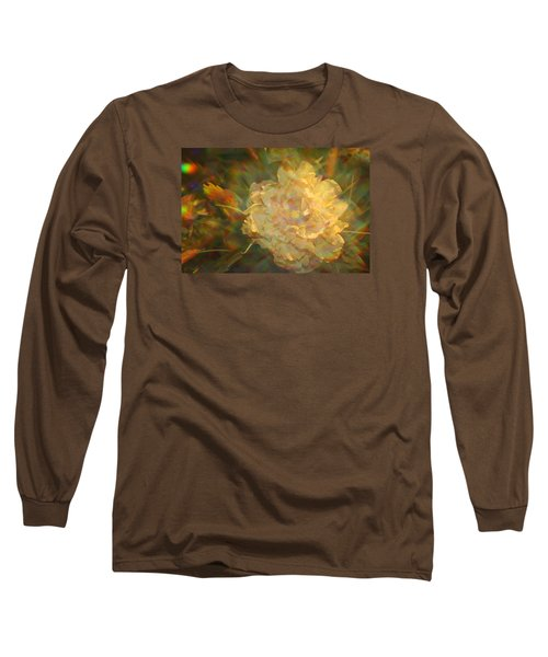 Long Sleeve T-Shirt featuring the photograph Impressionistic Rose by Dora Sofia Caputo Photographic Art and Design