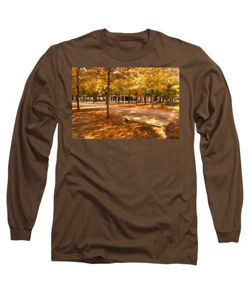 Impressions Of Paris - Tuileries Garden - Come Sit A Spell Long Sleeve T-Shirt