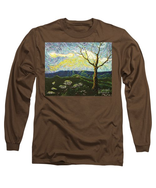 In Between A Rock And A Heaven Place Long Sleeve T-Shirt