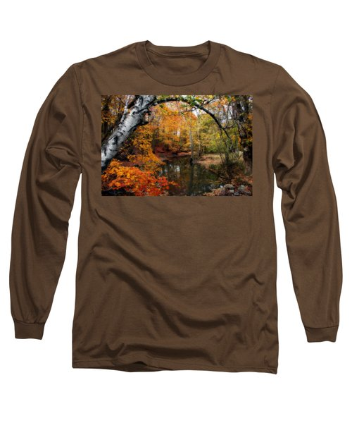 Long Sleeve T-Shirt featuring the photograph In Dreams Of Autumn by Kay Novy