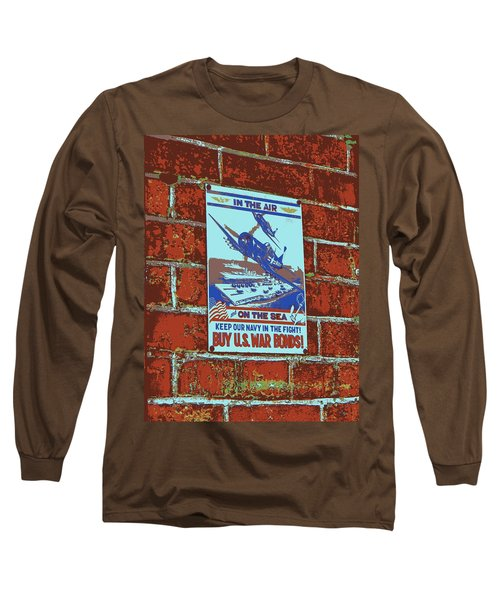 Long Sleeve T-Shirt featuring the photograph In The Air And On The Sea Poster by Jean Goodwin Brooks
