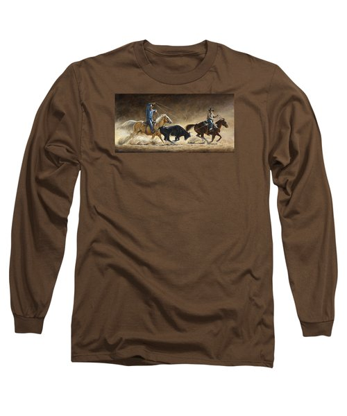 In The Money Long Sleeve T-Shirt by Kim Lockman
