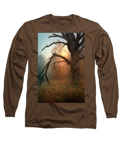 In The Stillness Long Sleeve T-Shirt by Rob Blair