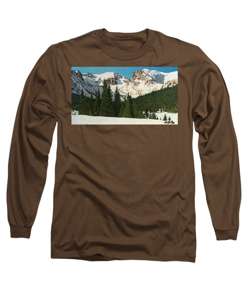Indian Peaks Winter Long Sleeve T-Shirt