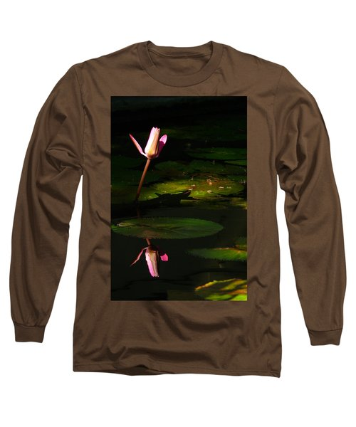 Long Sleeve T-Shirt featuring the photograph Inner Peace by Evelyn Tambour