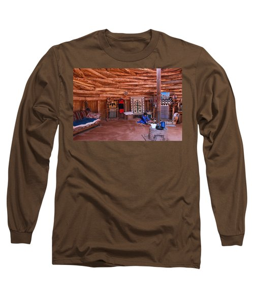 Inside A Navajo Home Long Sleeve T-Shirt