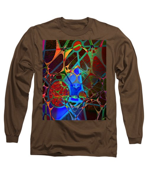 Inside Out Long Sleeve T-Shirt by Ally  White