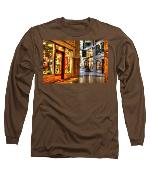 Inside The Grove Arcade Long Sleeve T-Shirt