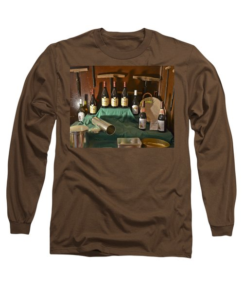 Inside The Wine Cellar Long Sleeve T-Shirt
