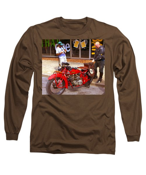 Inspecting Indian #70 Long Sleeve T-Shirt