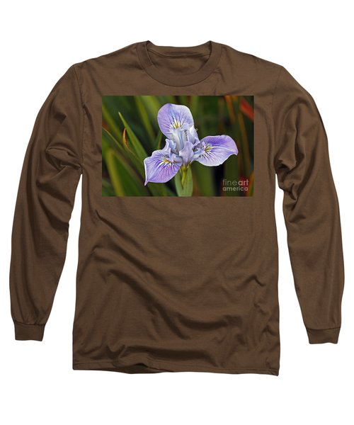 Long Sleeve T-Shirt featuring the photograph Iris by Kate Brown
