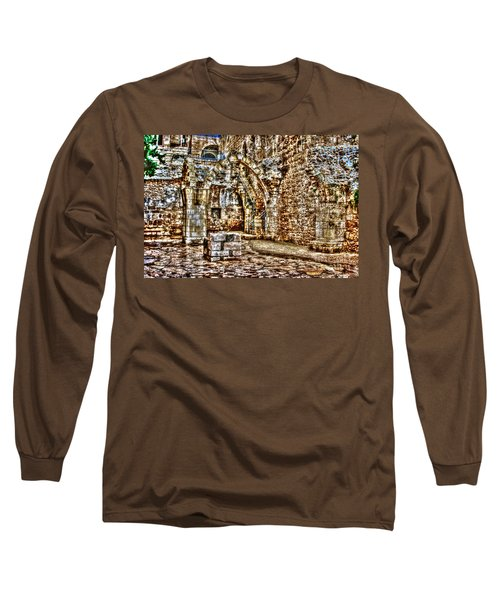 Long Sleeve T-Shirt featuring the photograph Israels Ruins by Doc Braham
