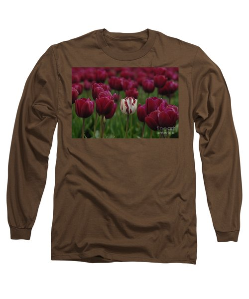 It Is Beautiful Being Different Long Sleeve T-Shirt by Bob Christopher