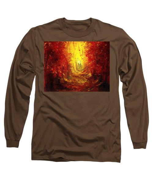 Long Sleeve T-Shirt featuring the painting Ive Fallen For You by Shana Rowe Jackson
