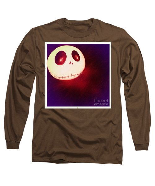 Jack Skellington Glowing Long Sleeve T-Shirt