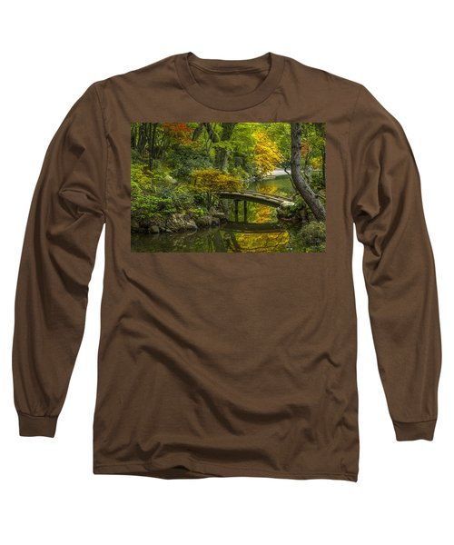Long Sleeve T-Shirt featuring the photograph Japanese Garden by Sebastian Musial