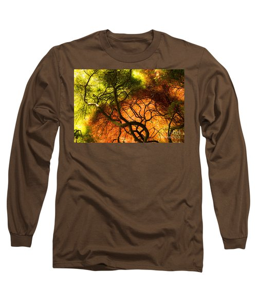 Japanese Maples Long Sleeve T-Shirt