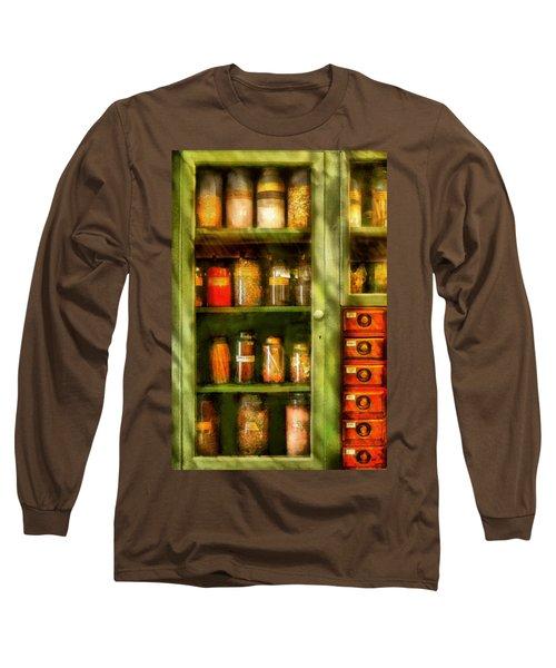 Jars - Ingredients II Long Sleeve T-Shirt