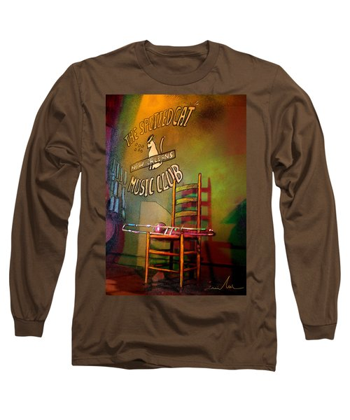 Jazz Break In New Orleans Long Sleeve T-Shirt