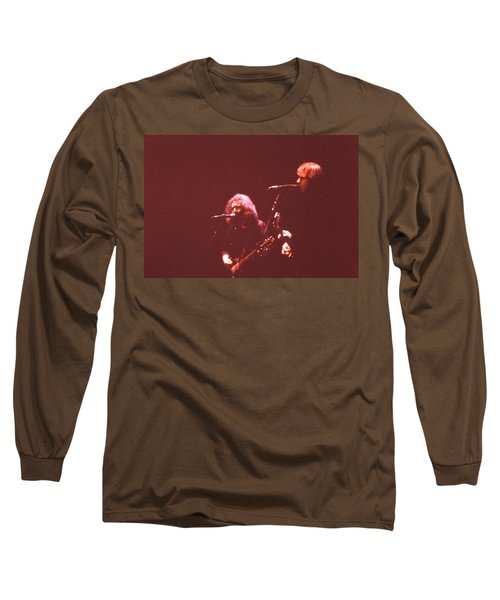 Nothing Left To Do But Smile Long Sleeve T-Shirt by Susan Carella