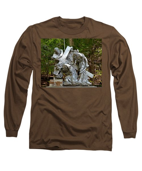 Jesus Falls The First Time Long Sleeve T-Shirt