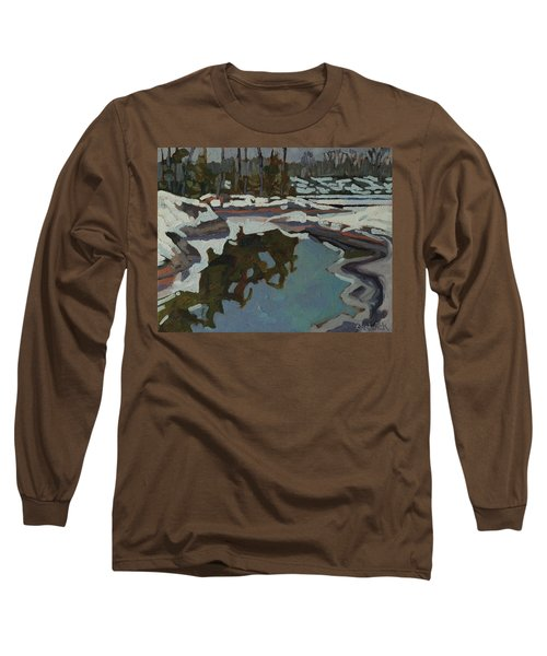 Jim Day Reflections Long Sleeve T-Shirt by Phil Chadwick