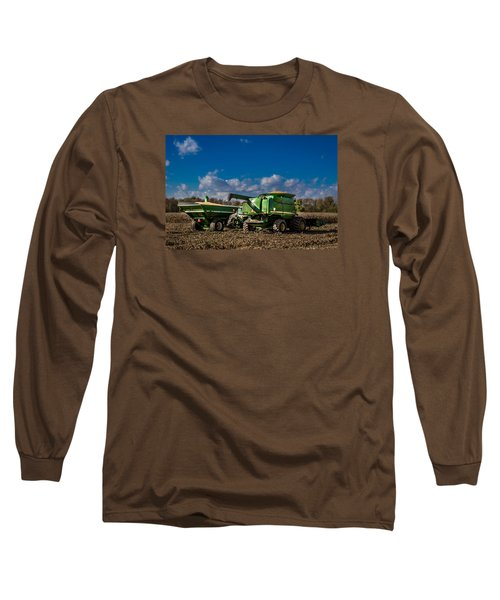 John Deere Combine 9770 Long Sleeve T-Shirt