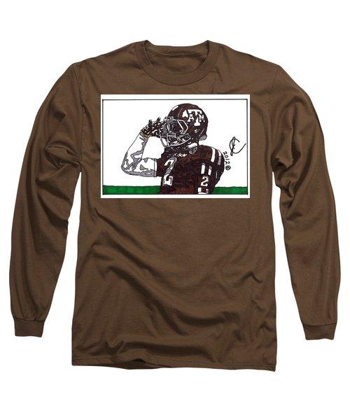 Johnny Manziel The Salute Long Sleeve T-Shirt