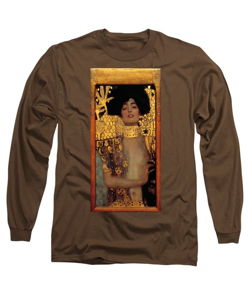 Judith And The Head Of Holofernes Long Sleeve T-Shirt